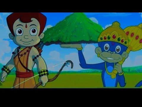 How To Draw Chhota Bheem Aur Hanuman।Mahabali Hanuman In Bheemayan