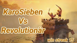 KaroSieben vs Revolutionär | German Clan war | war recap | best of | TH 12 | COC clash of clans 2/19