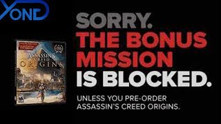Yup, This Is A Real Gamestop Ad For Assassin's Creed Origins.