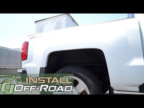 Chevrolet Silverado/GMC Sierra ReadyLIFT Rear Block Kit 2