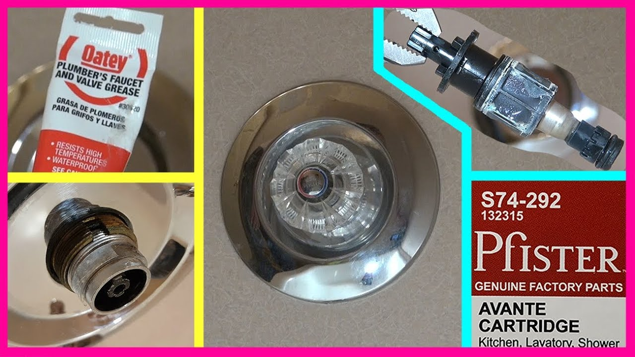 how to replace price pfister shower faucet cartridge remont krana v dushe