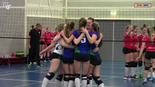 Volleybal Dames Beker 1/4 Finale Noord: Flash Nieuwleusen D2 - Vovem'90 D1 [20-02-2018]