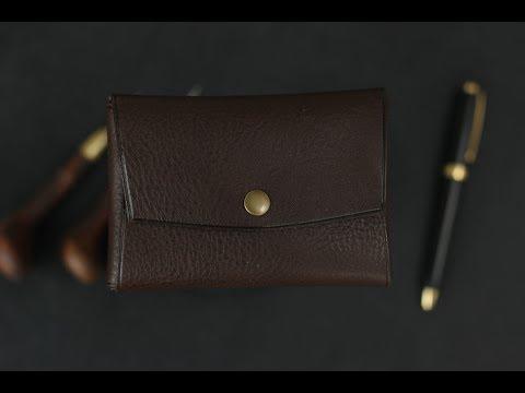 Leather Wallet/Cardholder. Easy DIY
