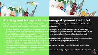 Recent Guidelines to Travel UK || ACV Global Consultants - ACV Global Consultants || Study Abroad