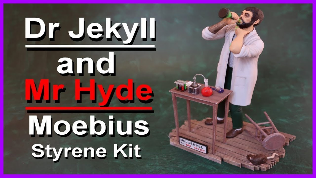 Dr Jekyll and Mr Hyde Moebius Model Kit Build