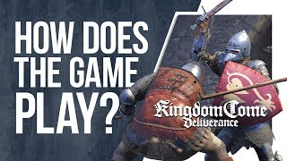 KINGDOM COME DELIVERANCE - Gameplay, Info & Impressions
