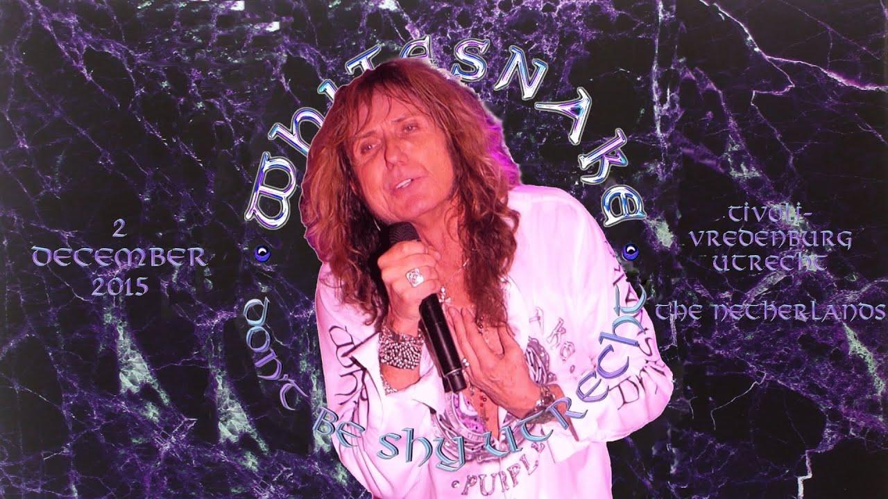 Whitesnake Lead Singer Whitesnake 02 12 2015 Full Concert Utrecht Tivoli Vredenburg