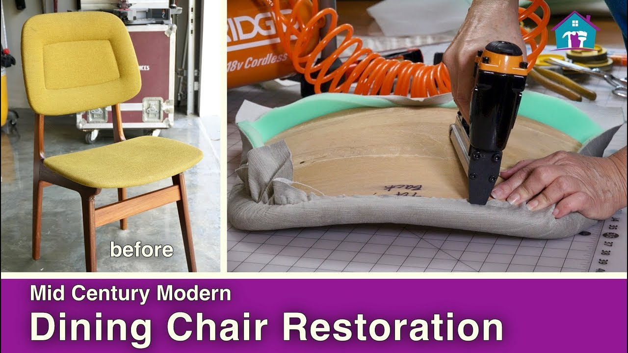 mid century modern furniture restoration. Mid-Century Modern Chair Reupholstery Mid Century Furniture Restoration