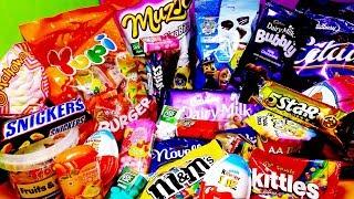 LOT'S OF CANDIES, KINDER JOY SURPRISE EGGS AND MORE CHOCOLATE - mySurpriseTv