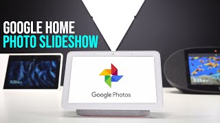 Google Home Hub - How To Add Your Photos
