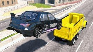 Incredible Stunts & Jump Fails #2 - BeamNG Drive