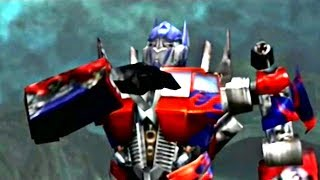 Transformers: The Game (PSP) - Walkthrough Part 1 - Desert Highway