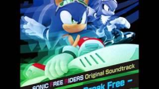 Free - Sonic Free Riders Original Soundtrack - Break Free (Crush 40 Vers.)