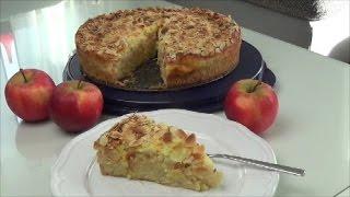Thermomix TM 5 - Apfelkuchen mit Schmandguss und Mandelplättchen / Thermiliscious
