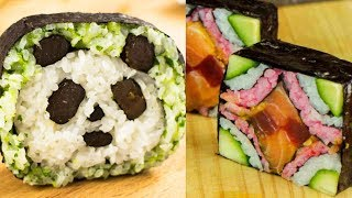 7 Amazing Sushi Creations (Compilation)