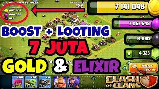 Cara Cepat Looting di Game Clash Of Clans