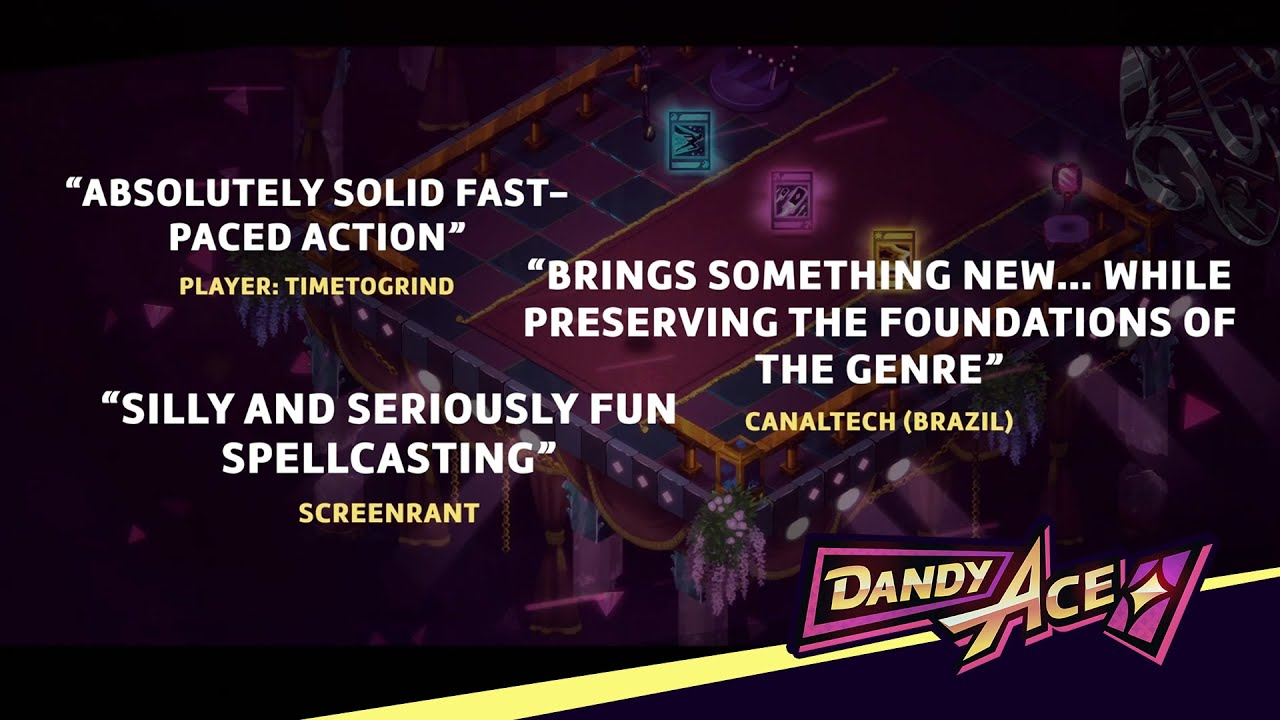 Dandy Ace Releases New Accolades Trailer To Celebrate Successful Launch