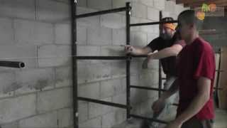 Scaffold Into Lumber Rack How-to
