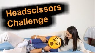 HEADSCISSORS CHALLENGE!! (DON'T TRY THIS!)