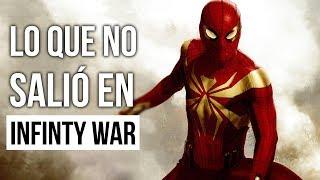 Lo que no salió en Infinity War