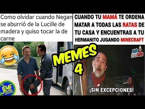 Los Mejores Memes De The Walking Dead Parte 4 Eljemf Youtube