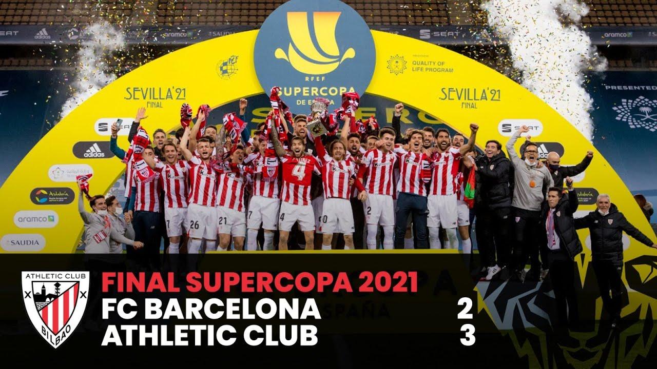 Download ⚽ RESUMEN I FC Barcelona 2-3 Athletic Club | Final Supercopa 2021 I HIGHLIGHTS