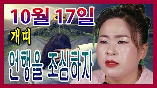 오늘의 운세 띠별운세 2020년 10월 17일 개띠 선미보살 ☎010-4354-7730 서울 용한점집 유명한…