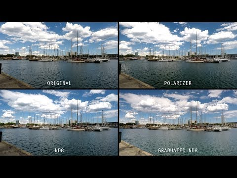 PolarPro filters for GoPro Hero 5
