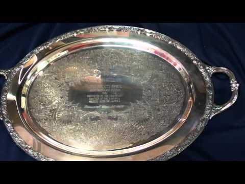 1956 Reds Team MVP Award Presented to Roy McMillan
