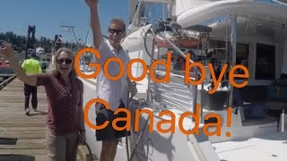 Sailing Around the World Untying the Lines! Ep 19 Off the Starboard Hull Lagoon 400 S2
