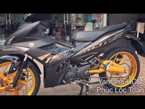 Yamaha Exciter 2019 đen Nhám độ Mâm Tinh Tế