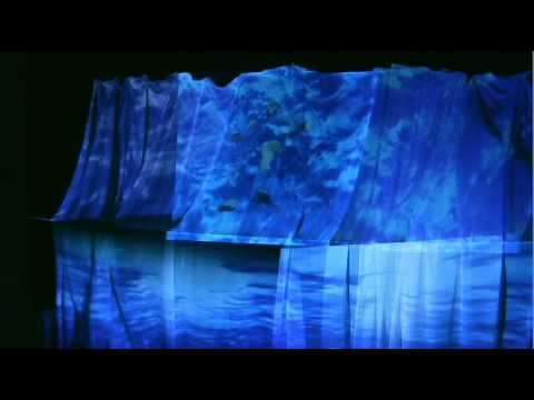 water art installation video BY RISHA GORIG CAN YOU SEE ME - YouTube