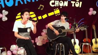 [GuitarHUBT-sn 7 năm] Hát cho màn đêm - Hà Tuấn Anh - Hùng Heat