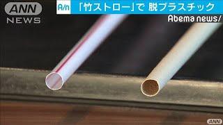 ワタミは竹製ストローで・・・脱プラの取り組み広がるか(19/06/28)