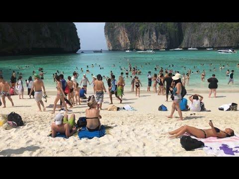 LEONARDO DICAPRIO'S MAYA BEACH Ko Phi Phi Island & Khai Island Tour 4K RAW iPhone Footage