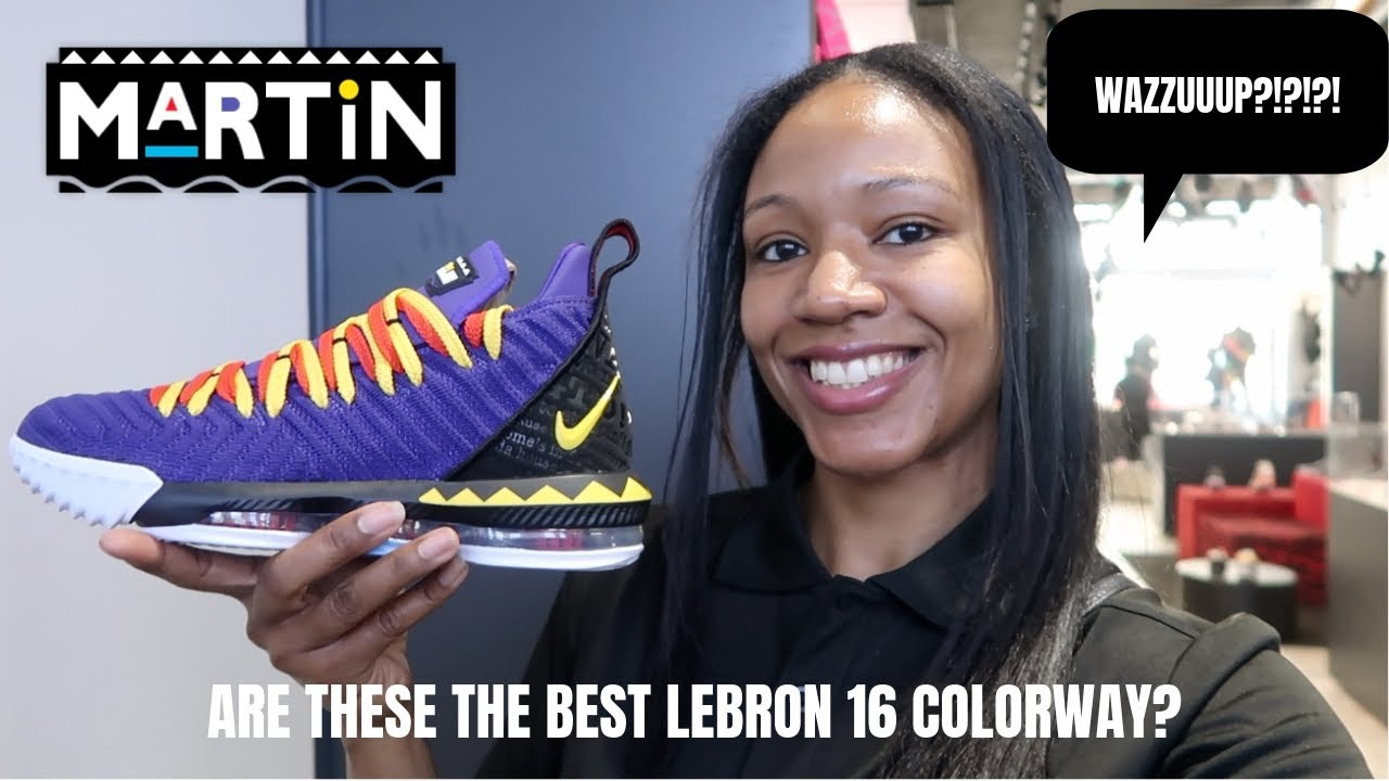 low priced c8195 9d0a9 LEBRON 16 MARTIN!! EARLY IN HAND REVIEW!!