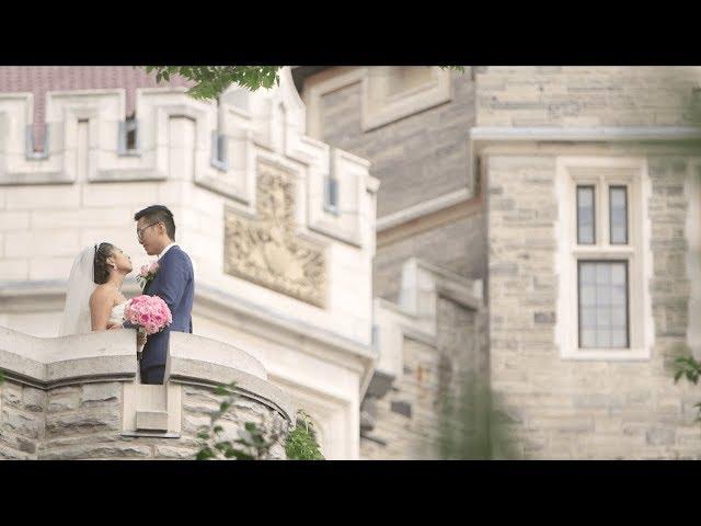 Toronto Chinese Wedding Videographer at Casa Loma