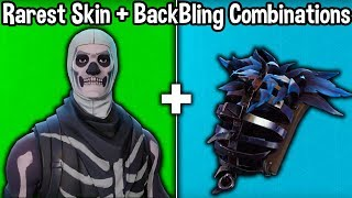 10 RAREST SKIN + BACKBLING COMBOS in Fortnite! (u don't have these skin combinations)