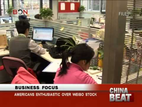 Americans enthusiastic over Weibo stock-China Beat-April 18 ,2014-BONTV China