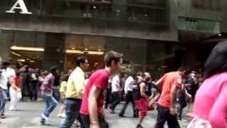 kolaveri di sydney flash mob enjoy yourself