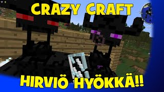 Crazy Craft: KAKSIPÄINEN HIRVIÖ HYÖKKÄÄ! (Veljen kaa) #3