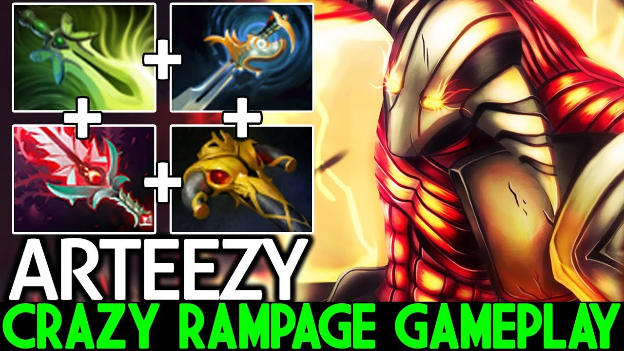 ARTEEZY [Sven] WTF is This Damage Crazy Rampage Gameplay 7.22 Dota 2
