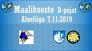 Maalikooste EräViikingit Valkoinen - ÅIF/PSS (B-pojat Alueliiga 7.11.2019)