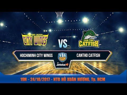 #Livestream || Game 36: Hochiminh City Wings vs Cantho Catfish 24/10 | VBA 2017 by Jetstar