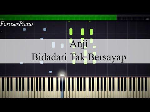 Anji - Bidadari Tak Bersayap (Synthesia Piano)