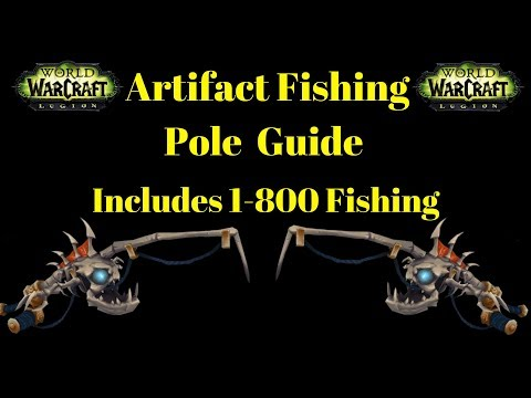 The Underlight Angler In-depth Guide - Step By Step Guide 1-800 Fishing Included! - Warcraft Legion