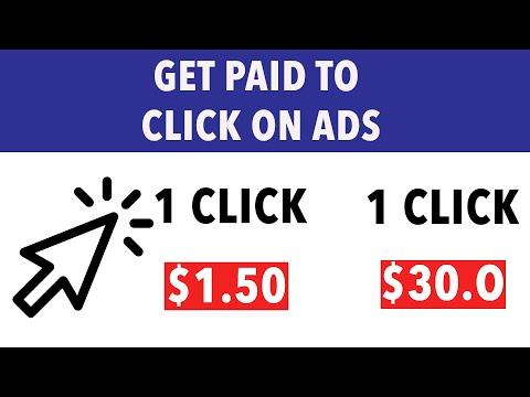 Make Money Clicking On Ads! ($1.50+ Per Click) FREE – Anywhere ( Make Money Online )