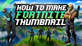 Awesome Fortnite Thumbnail Design!