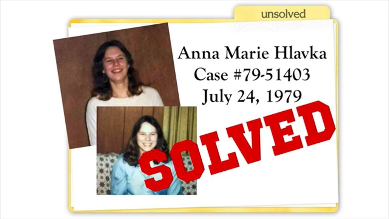 Cold Case Solved: Anna Marie Hlavka