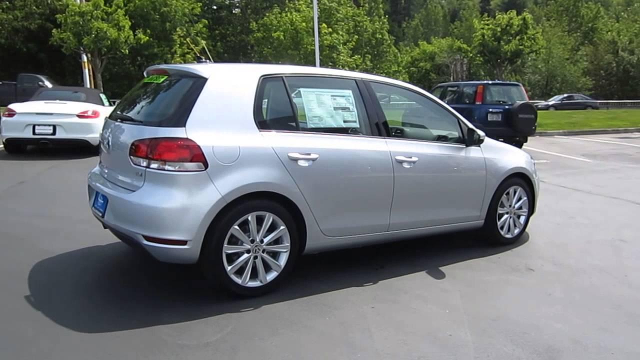 2013 Volkswagen Golf, Reflex Silver Metallic - STOCK# 109253 - YouTube